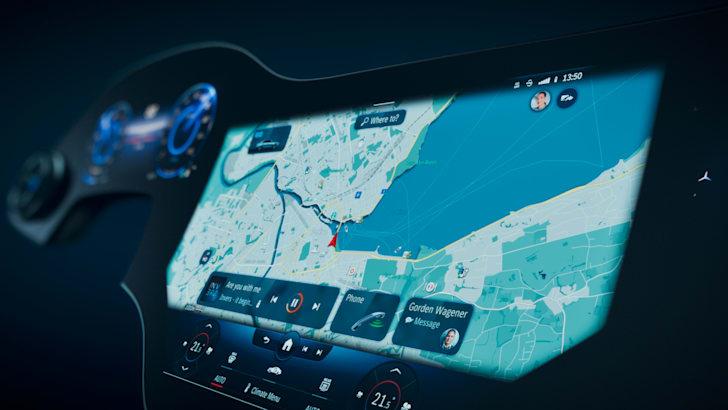 Mercedes-Benz EQS 2021 года: представлена информационно-развлекательная система MBUX Hyperscreen следующего поколения | CarAdvice