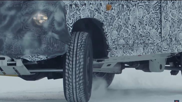 Ineos Grenadier tyres
