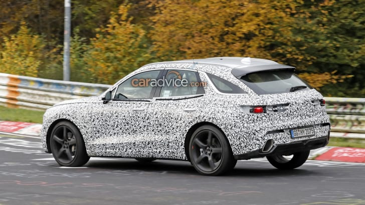 2021 Genesis GV70 spied in new camouflage   CarAdvice