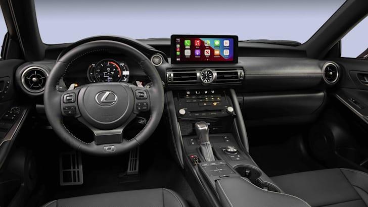 Lexus IS500 F Sport Performance 2022 года с двигателем V8 мощностью 352 кВт, не для Австралии   CarAdvice