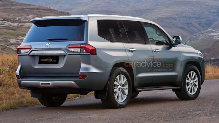 Затемнение автосалона Toyota LandCruiser до прибытия 300-й серии   CarAdvice