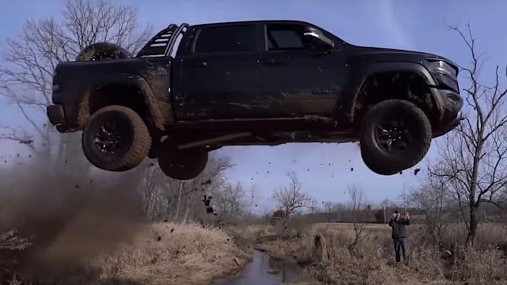 Ram TRX jumping