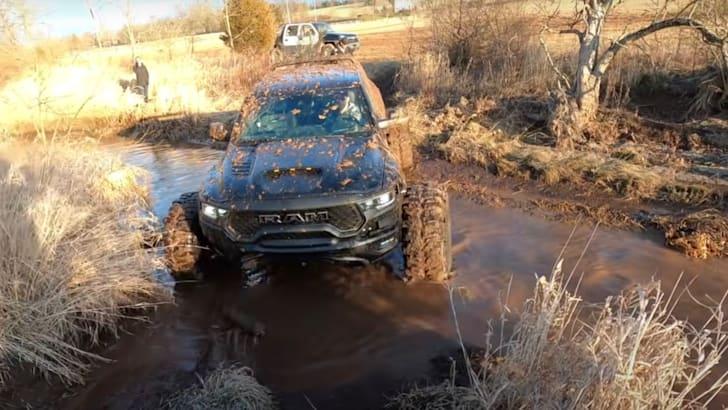 RAM TRX off-road