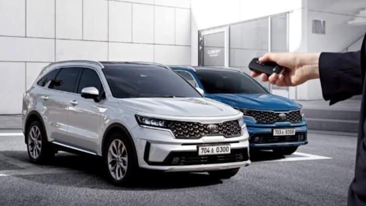 2021 Kia Sorento价格和规格