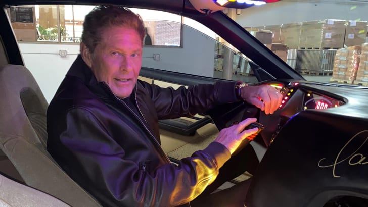 Вы можете купить KITT Дэвида Хассельхоффа у «Рыцаря всадника» (и он вам его доставит) | CarAdvice
