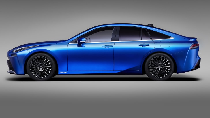 2020 Toyota Mirai Concept Revealed For Tokyo Motor Show Caradvice