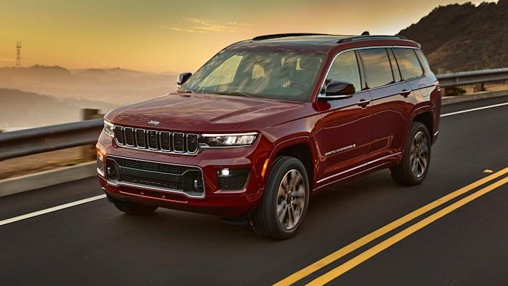 Представляем Jeep Grand Cherokee L Trackhawk 2024 года   CarAdvice