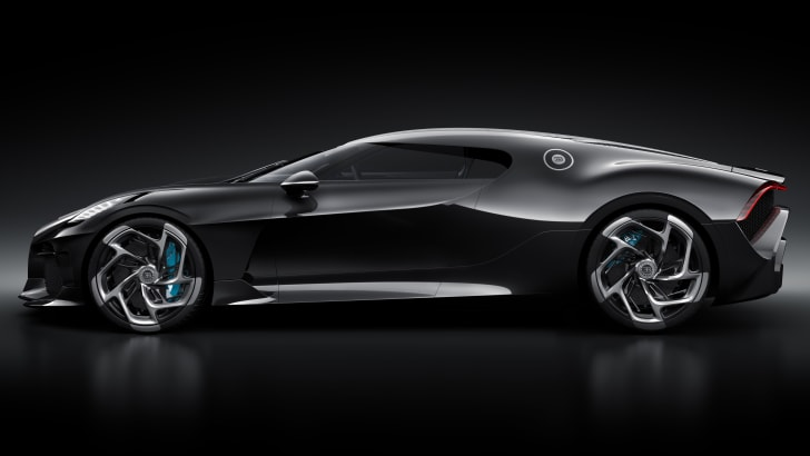Bugatti La Voiture Noire: $17 6 million hypercar unveiled
