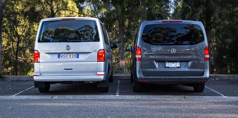 2016 Comparison Volkswagen Caravelle V Mercedes Valente-87