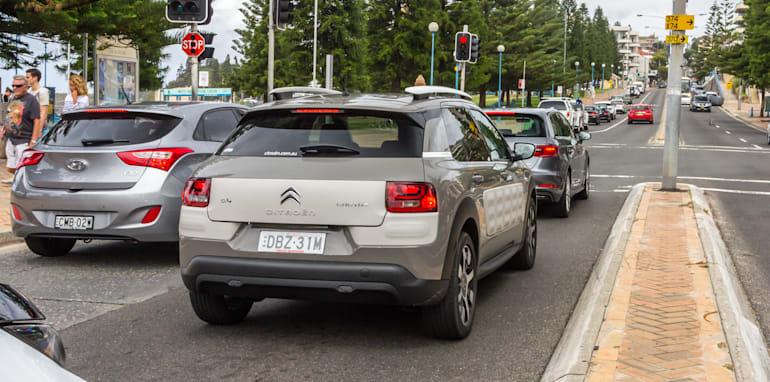 Eco-Test Urban loop - Audi A3 e-tron v BMW i3 v Citroen C4 Cactus v Toyota Prius-45