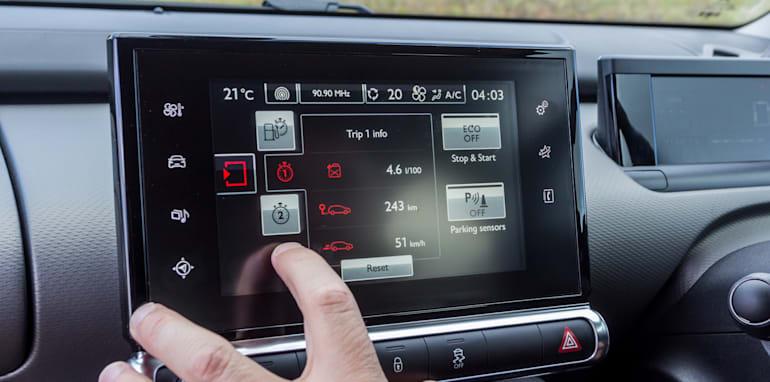 Eco-Test Country loop - Audi A3 e-tron v BMW i3 v Citroen C4 Cactus v Toyota Prius-73