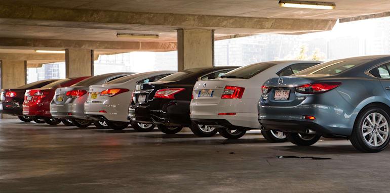Mid-size Sedans-3