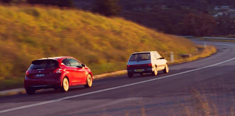 Old v New - Subaru WRX, Mini Cooper S, Peugeot GTi_42