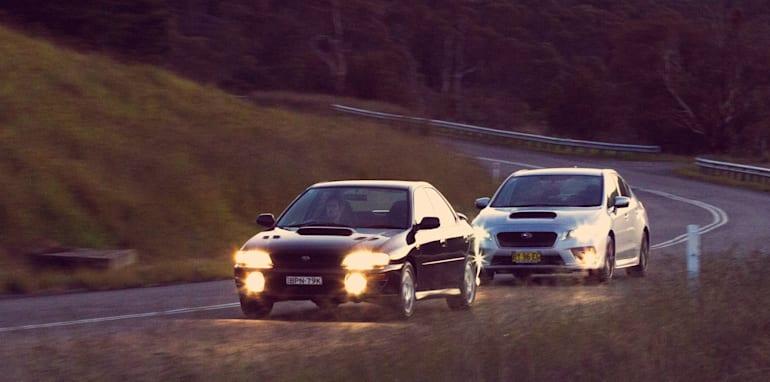 Old v New - Subaru WRX, Mini Cooper S, Peugeot GTi_18