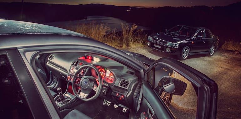 Old v New - Subaru WRX, Mini Cooper S, Peugeot GTi_22