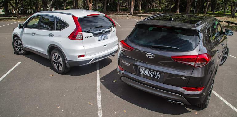 Hyundai Tucson V Honda CR-V-1-8