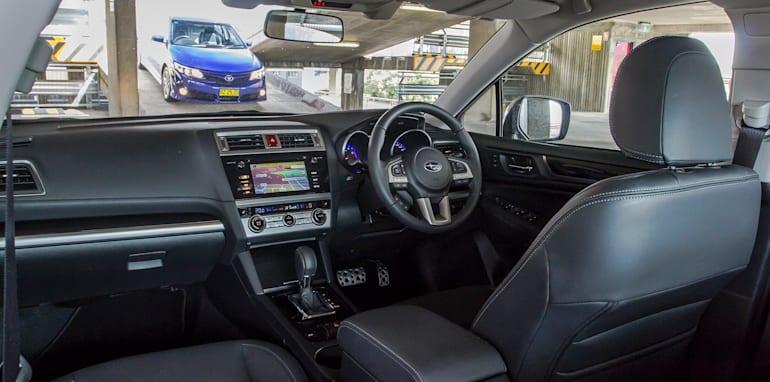 Toyota Camry Mazda 6 Subaru Liberty Hyundai Sonata-108