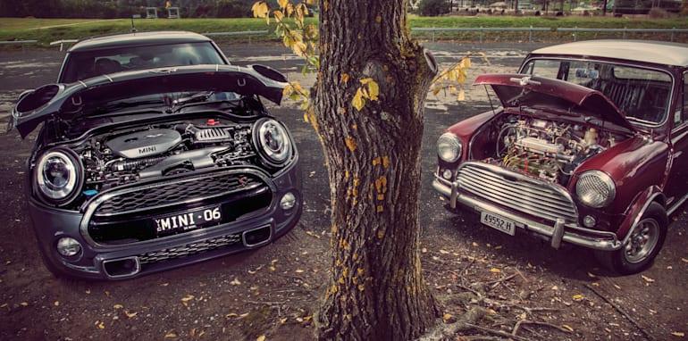 Old v New - Subaru WRX, Mini Cooper S, Peugeot GTi_05