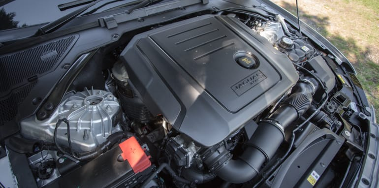 2016 Luxury sedan comparison Hyundai Genesis Ultimate v Jaguar XF 20d Prestige v Infiniti Q70 GT v Lexus GS200t F Sport v Skoda Superb sedan 206TSI-138