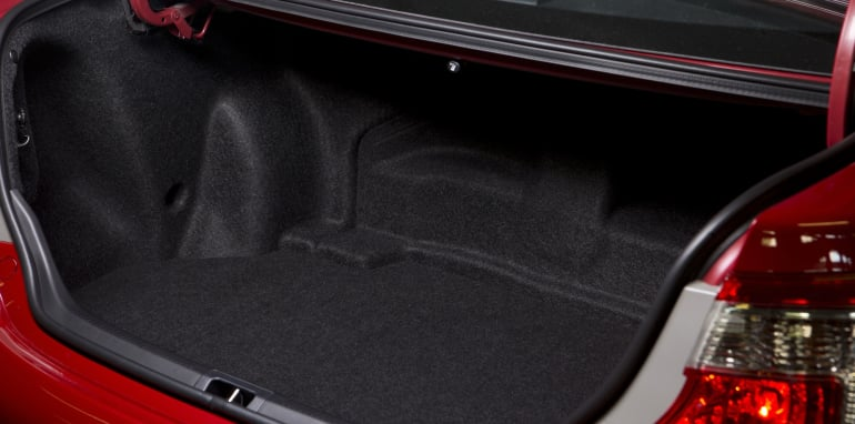 Mid-size Sedans - Toyota Camry Hybrid boot