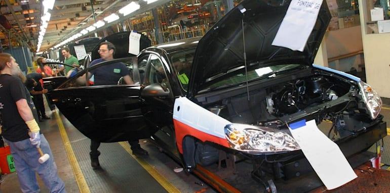 A New 2005 Pontiac G6 Assembled At GM