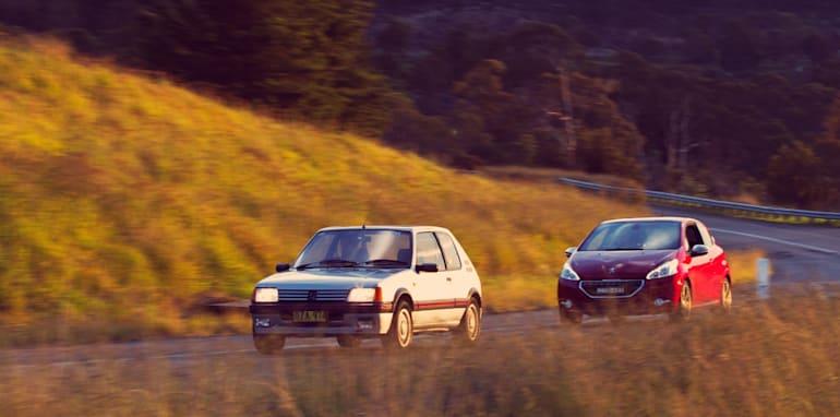 Old v New - Subaru WRX, Mini Cooper S, Peugeot GTi_34
