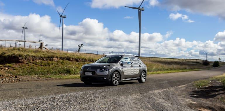 Eco-Test Country loop - Audi A3 e-tron v BMW i3 v Citroen C4 Cactus v Toyota Prius-85