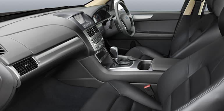 Ford FG G6 Limited Edition_interior