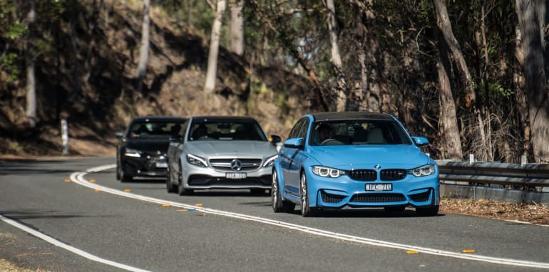 BMW-M3-Mercedes-AMG-C63-comparison - 2