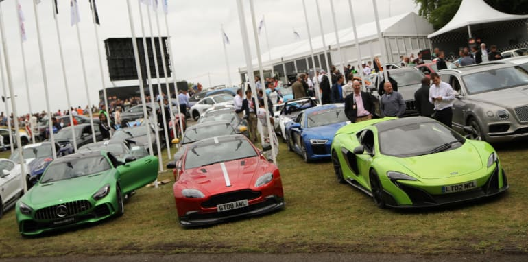 Goodwood Festival of Speed 2016, Goodwood Estate, Chichester, West Sussex, UK - 26.06.16