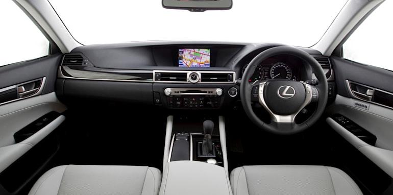 2012 Lexus GS Luxury interior
