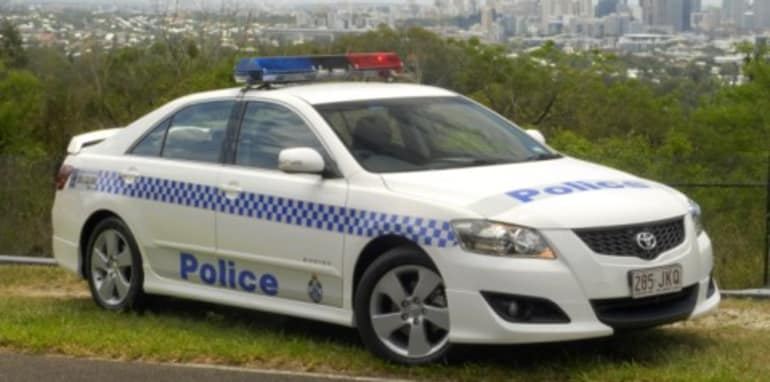Queensland Police Recruits Toyota Aurion