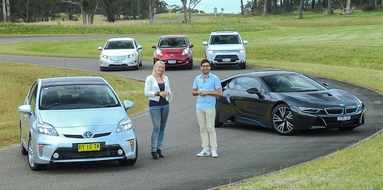 Electric cars comparison : BMW i8 v Holden Volt v ...