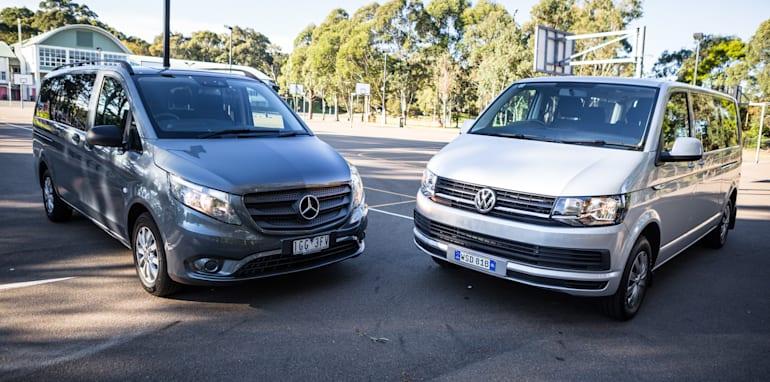 2016 Comparison Volkswagen Caravelle V Mercedes Valente-71