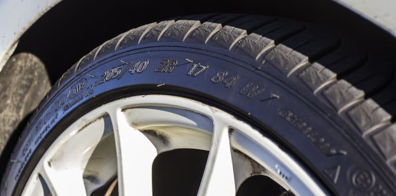 Low profile tyres: how low can you go?