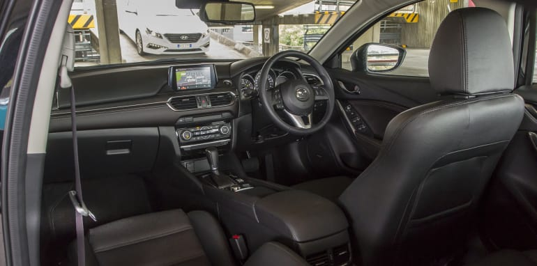 Toyota Camry Mazda 6 Subaru Liberty Hyundai Sonata-110