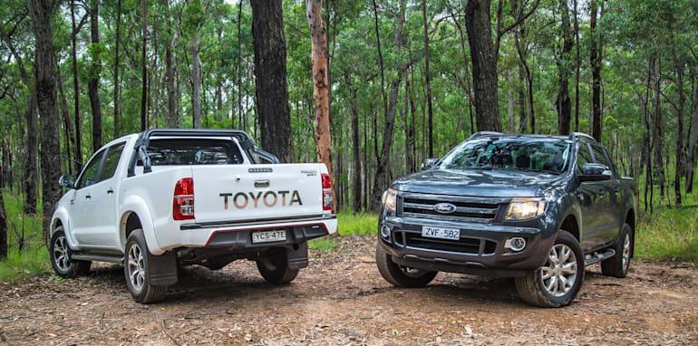 Toyota HiLux v Ford Ranger_9