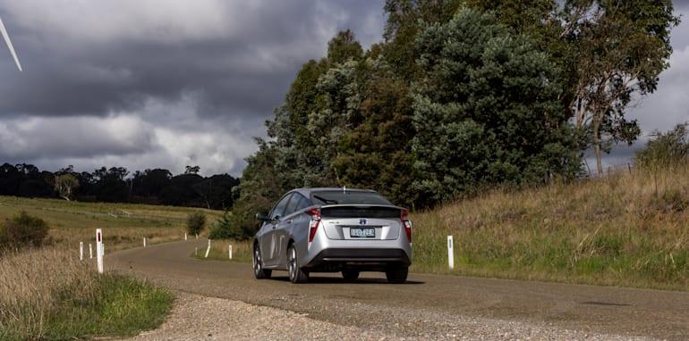 Eco-Test Country loop - Audi A3 e-tron v BMW i3 v Citroen C4 Cactus v Toyota Prius-146