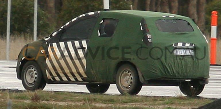 Ford small Verve based car spy photos