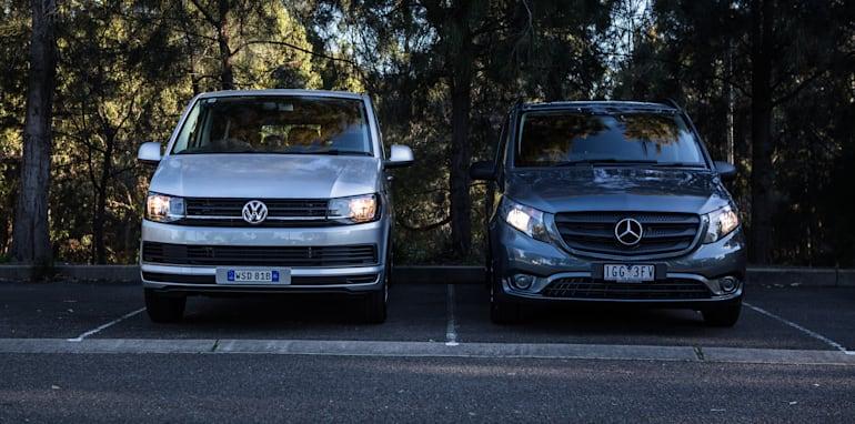 2016 Comparison Volkswagen Caravelle V Mercedes Valente-79