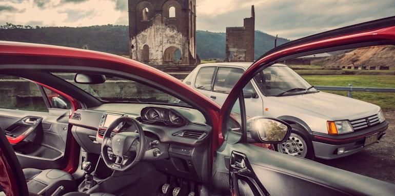 Old v New - Subaru WRX, Mini Cooper S, Peugeot GTi_15