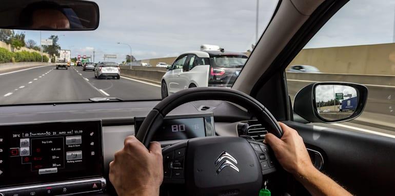 Eco-Test Country loop - Audi A3 e-tron v BMW i3 v Citroen C4 Cactus v Toyota Prius-8