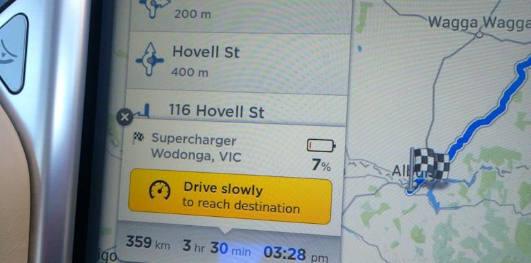 Tesla Model S Sydney to Melbourne_18