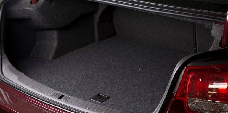 Mid-size Sedans - Holden Malibu boot