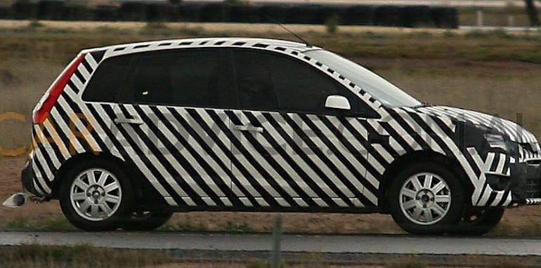 Ford Verve based small car spy photos