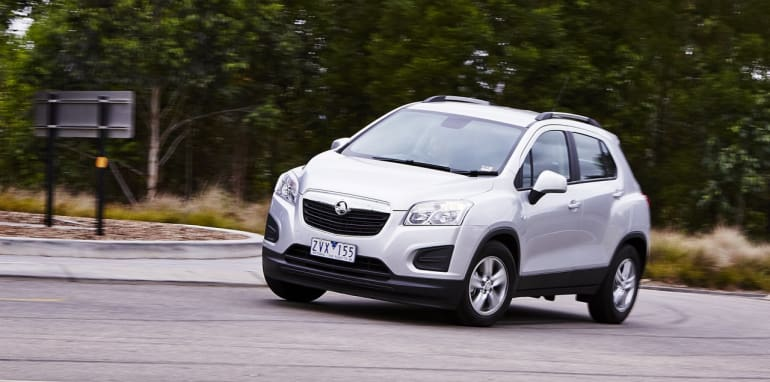 Holden Trax 18