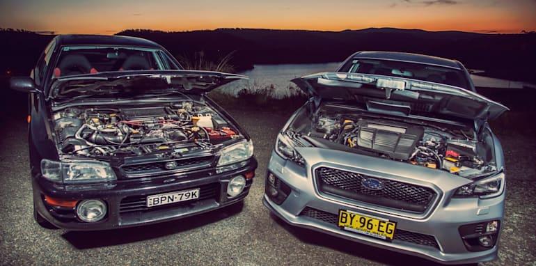 Old v New - Subaru WRX, Mini Cooper S, Peugeot GTi_19