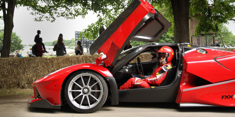 Goodwood Festival of Speed 2016, Goodwood Estate, Chichester, West Sussex, UK - 25.06.16
