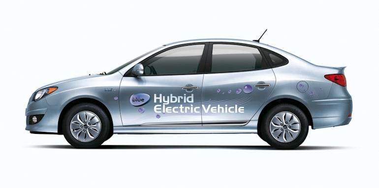 Hyundai Avante LPI Hybrid Electric Vehicle (HEV)