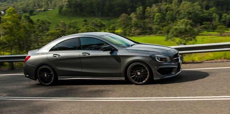 Audi A3 sedan v Mercedes-Benz CLA-Class-4
